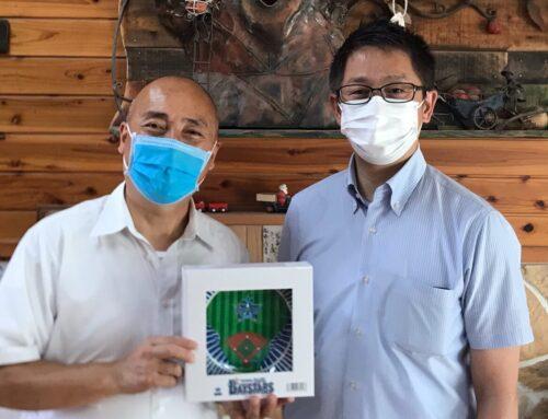 【地域貢献活動報告】   金沢白百合幼稚園様  ハマスタ皿寄贈